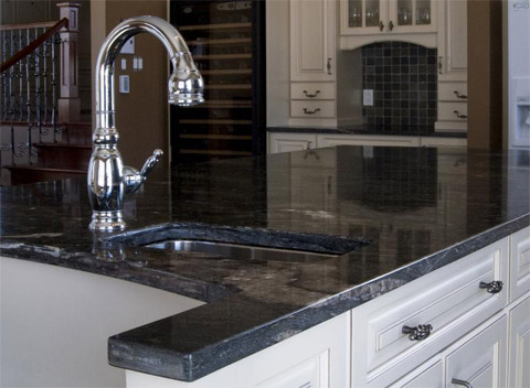Cuisine En Granite Marbre Et Quartz King